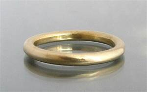 Simple Wedding Band Gold Thin Ring Thin Wedding Band
