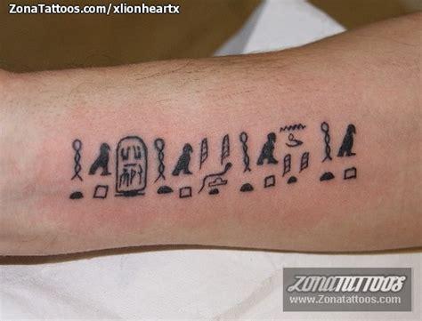 tatuaje de egipcios