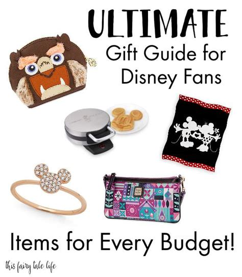 gifts for disney fans disney fan 39 s gift guide for every budget
