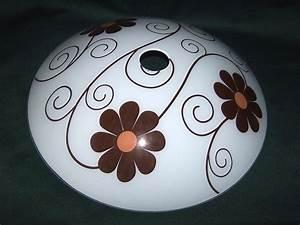 Lampenschirm 40 Cm Durchmesser : lampenschirm aus glas f r e 27 durchmesser 40 cm daisy ~ Bigdaddyawards.com Haus und Dekorationen