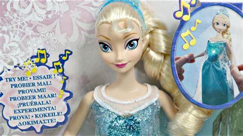 musical magic elsa doll grajaca ksiezniczka elza