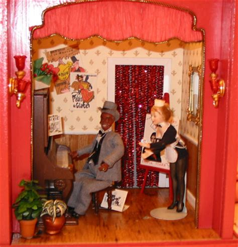 brothel nanas dollhouses  miniatures