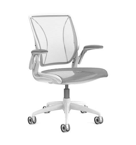 Diffrient World Chair by Next Day Delivery Humanscale Diffrient World Chair White
