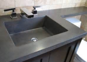 How To Concrete Sink by Concrete Sinks For The Bathroom