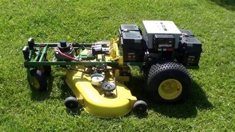 rc lawn mower remote lawn mower youtube