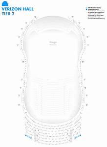 Verizon Hall Seating Charts Kimmel Center