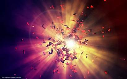 Explosion Energy Wallpapers Sfondi Shards Energia Geistheilung