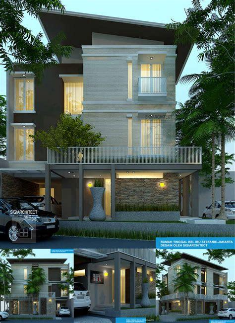 desain rumah  lantai hook
