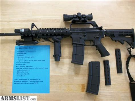 ARMSLIST - For Sale: Bushmaster .223 M4A1 with Accessories 223