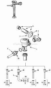 Sloan Sloan Parts List And Diagram   Ereplacementparts Com