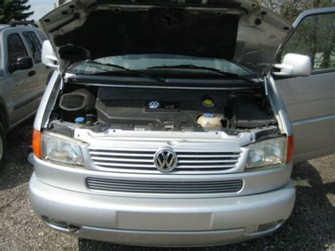 how cars engines work 1993 volkswagen eurovan engine control purchase used vw eurovan my2001 silver needs engine repair in wooster ohio united states