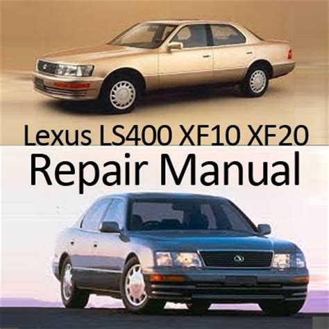 auto repair manual online 1989 lexus ls navigation system lexus ls400 xf10 1990 1994 repair manual