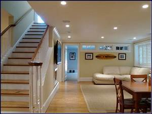 small finished basement home design With finished basement ideas on a budget