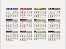 Kalender 2015 Lengkap Hijriyah dan Jawa Format CorelDraw
