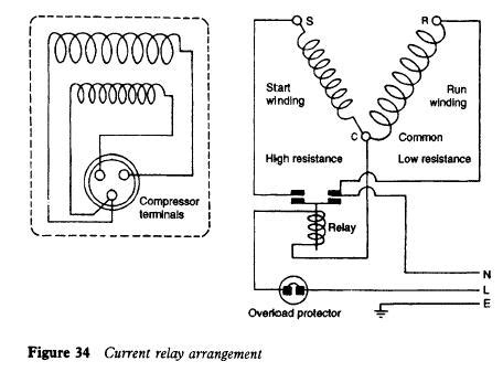 Wiring Diagram Of Refrigerator Compressor by Fridge Motor Not Working Impremedia Net