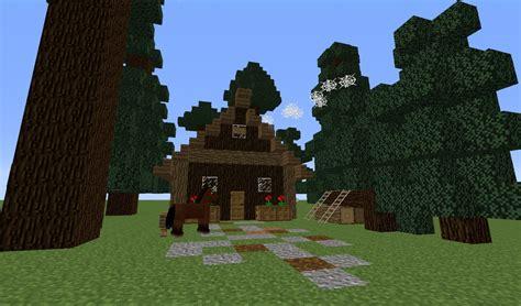 Haus Im Wald Bauen by ᐅ Blockh 252 Tte Haus Im Wald In Minecraft Bauen Minecraft