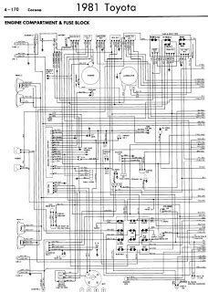 repair manuals toyota corona 1981 wiring diagrams
