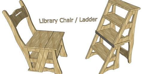 library chair ladder furniture wood