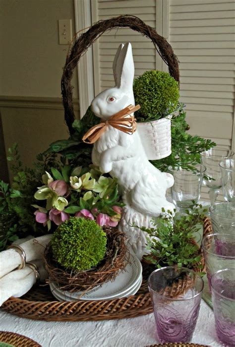 bunny decorations upstairs downstairs not the easter bunny