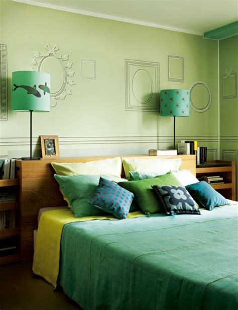 chambre verte quelle couleur pour votre chambre à coucher