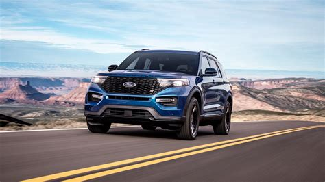 ford explorer lineup adds  hp st variant