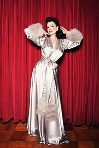 please note we are not taking any new orders for delivery With dita von teese robe