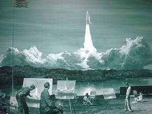 """Mark Tansey painting """"Action Painting II"""" shows artists on ..."""