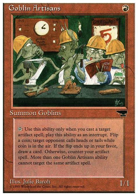 goblin artisans chr mtg card