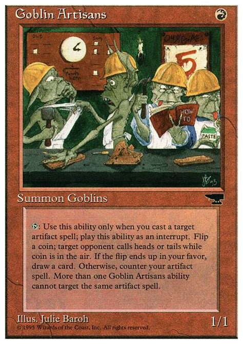 Goblin Commander Deck 2014 by Goblin Artisans Chr Mtg Card