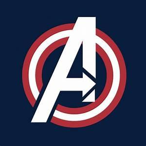 Camiseta Los Vengadores (The Avengers). Logo América | Los ...