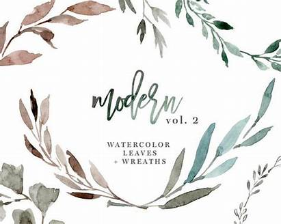 Watercolor Greenery Eucalyptus Leaves Clipart Watercolour Wreaths