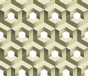 3d Cube Logo Icon, Vector Seamless Pattern. — Foto Stock ...