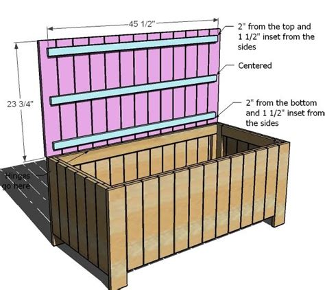 Permalink to Storage Bench Plans Diy