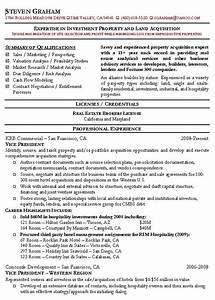 Real estate agent resume example realtor sample resumes for Real estate resume examples free