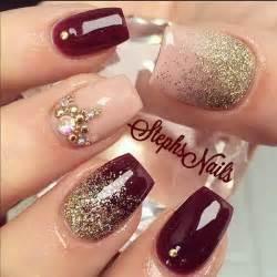 Stunning glitter nail designs
