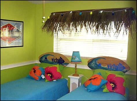 hawaiian surfing style bedroom decorating ideas  kids