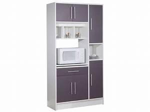 meuble rangement cuisine cuisine en image With meuble de cuisine a conforama