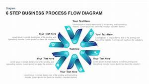 6 Step Business Process Flow Diagram Templates For Powerpoint
