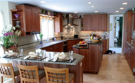 peninsula island kitchen transitional kosher kitchen with island and peninsula