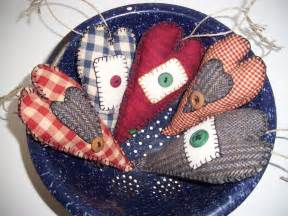 Country Rustic Primitive Christmas Ornaments