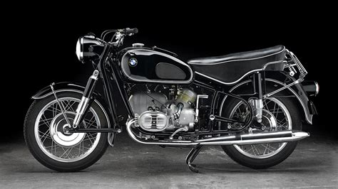 Motorcycle 1960-69 R 60-2 Motorcycles Side