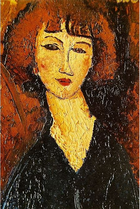 File:Young Woman of Montmartre - Amedeo Modigliani.png - Wikimedia Commons