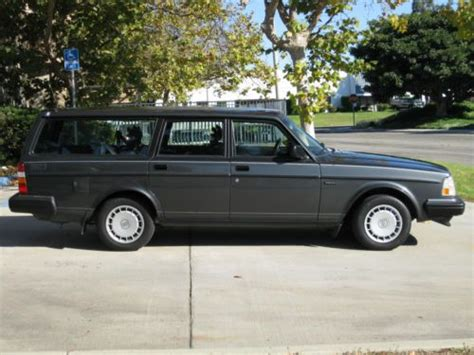 accident recorder 1992 volvo 940 engine control buy used 1992 volvo 240 wagon 55k miles only excellent no accidents in ventura california