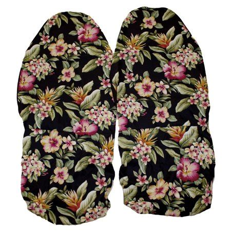 hawaiian car seat covers pink pink flower set   front