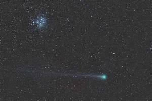 Comet Lovejoy C/2014 Q2 and the Pleiades - Sky & Telescope