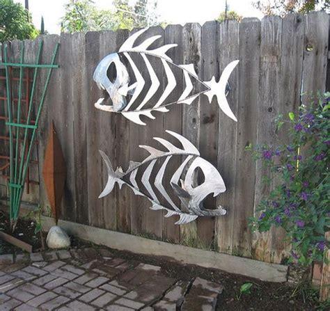 fish metal outdoor sculptures sculpture scrap yard garden steel flickr welding wall artists copper underwater artwork tree removal paul artist