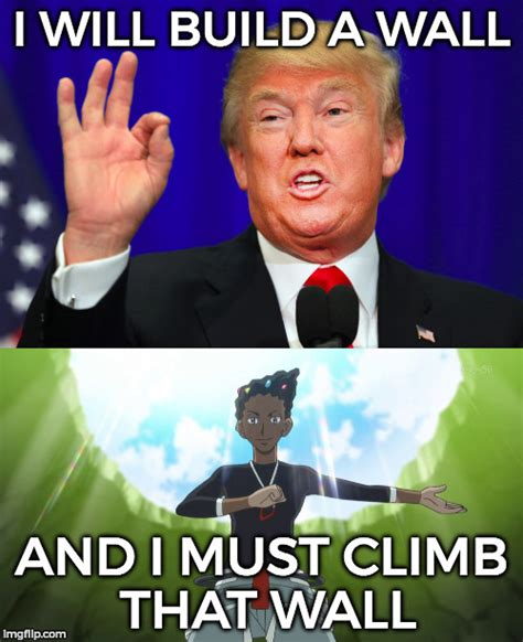 Meme Wall - donald trump and gym leader grant imgflip