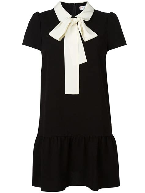 Red Valentino Pussy Bow Dress Fashion Lust Pinterest