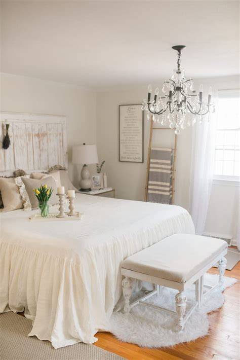 French Country Farmhouse Decor  Our Bedroom  Lynzy & Co