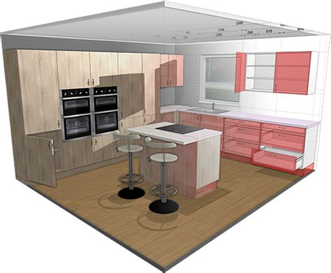free 3d kitchen design tool 3d kitchen planner design a kitchen free and easy 8274